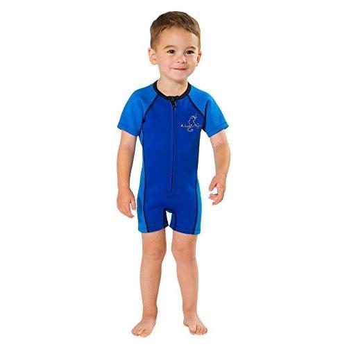 日本最大の NeoSport Wetsuits Children's Premium Neoprene 2mm Wetsuit, Blue, Size Three 並行輸入品, アートインテリア額縁のゆうびどう e7e5f478