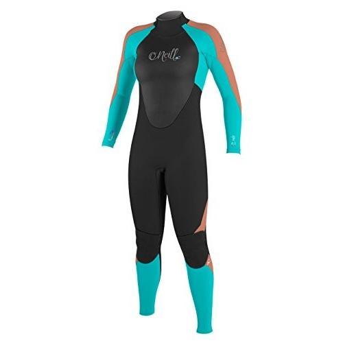 超人気の O'Neill Epic Women's Epic 3/2mm Back Back Zip Full O'Neill Wetsuit, Black/Aqua, 10 並行輸入品, 九州発おみやげ街道:a32d2f92 --- airmodconsu.dominiotemporario.com