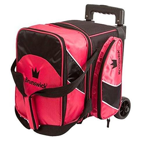 【再入荷!】 Brunswick Edge Single Roller Pink Bowling Bowling Bag, Pink Edge 並行輸入品, ディスクアンドディスク:4db1e5e8 --- persianlanguageservices.com