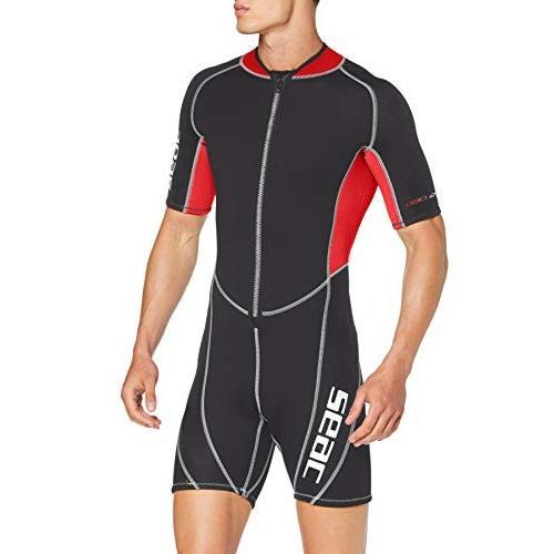 注文割引 SEAC Ciao, Men's Shorty Suit, 2.5 mm Neoprene for Snorkelling, Scuba Diving and Other Water Activities 並行輸入品, 四国仏壇 182a4c1e