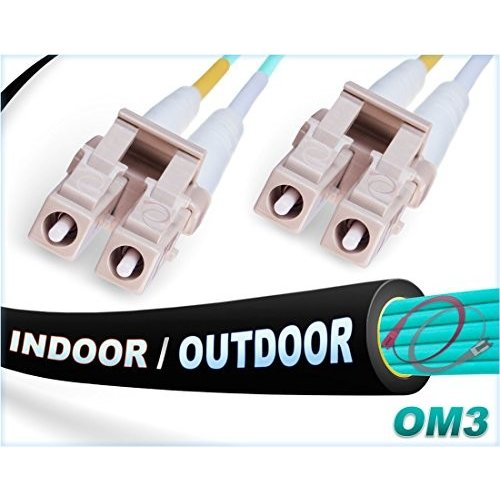 最新情報 FiberCablesDirect - Multimode 150M OM3 Fiber LC LC Fiber Length Patch Cable | Indoor/Outdoor 10Gb Duplex 50/125 LC to LC Multimode Jumper 150 Meter (492.12ft) | Length Optio, ブランドストアーST:fbc0fcf8 --- grafis.com.tr