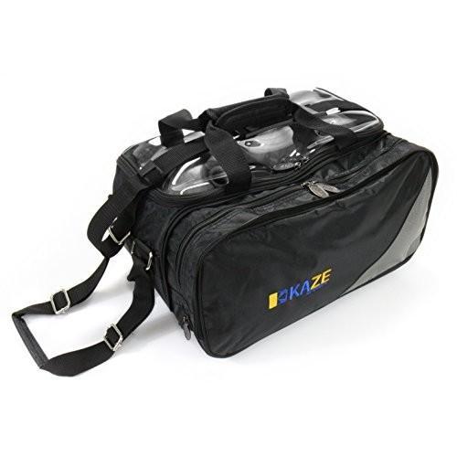 好評 KAZE SPORTS 2 Ball Compact (Black) Bowling Roller with with Expandable 2 Shoe Storage (Black) 並行輸入品, 加世田市:c1f31e3b --- airmodconsu.dominiotemporario.com