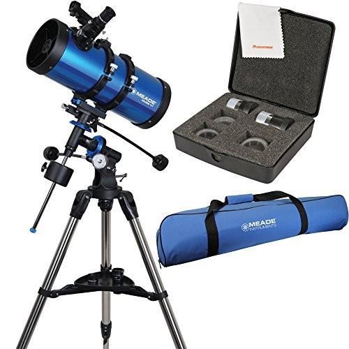【日本産】 Meade Travel Polaris Reflector 127mm f/7.9 Reflector Telescope w/ Bag Travel Bag & Accessory Kit【並行輸入品】, カワベマチ:a948daec --- grafis.com.tr
