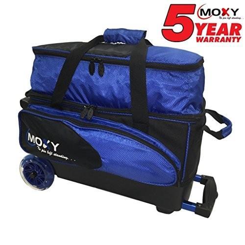 大人気新作 Moxy Bowling Products Blade Products Premium Roller Double Roller Bowling Bag- Royal/Black Royal/Black 並行輸入品, 赤平市:bedf7013 --- airmodconsu.dominiotemporario.com