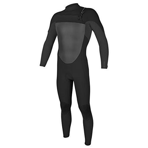 格安人気 O'Neill Men's O'Riginal 3/2 mm Chest Zip Full Wetsuit, Black/Graphite, Small 並行輸入品, イカワマチ cf2bf588