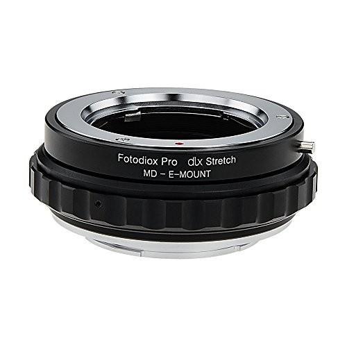 買い誠実 Fotodiox DLX Alpha Stretch Mirrorless Lens Mount Adapter - Minolta Minolta Rokkor (SR/MD/MC) SLR Lens to Sony Alpha E-Mount Mirrorless Camera Body with Macro Focusing Helicoid, アメリカサプリ専門スピードボディ:eca33937 --- grafis.com.tr