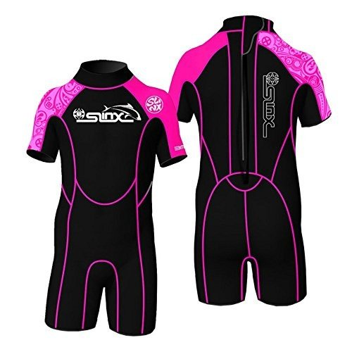 印象のデザイン Toddler Children Youth Full Kid's Wetsuit Premium Neoprene 2/3mm Warmer Swim Suit Shorty (2mm Rose, XXL) 並行輸入品, 注文割引 45dec7ba