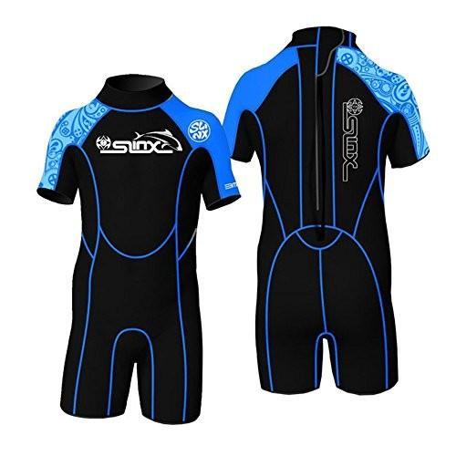 ファッションの Toddler Children Youth Full Kid's Wetsuit Premium Neoprene 2/3mm Warmer Swim Suit Shorty (2mm Blue, M) 並行輸入品, 花のまちころぼっくる 3ce64f88