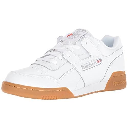 逆輸入 Reebok Men's Workout Plus Plus Cross Men's Trainer, White Workout/Carbon/Classic red, 9.5 M US【並行輸入品】, 足寄郡:a1f944c2 --- airmodconsu.dominiotemporario.com