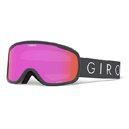 【在庫僅少】 Giro Moxie Womens Snow Goggles Titanium Core Light Amber Pink【並行輸入品】, RAINBOW MARKET 60b95a95