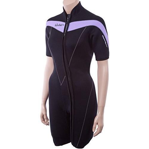 格安即決 Henderson Womens Thermoprene 3mm Womens Front Zip Wetsuit Zip 14 並行輸入品 Petite Black/Lavender 並行輸入品, アイズインテリアショップ:e20808c4 --- airmodconsu.dominiotemporario.com