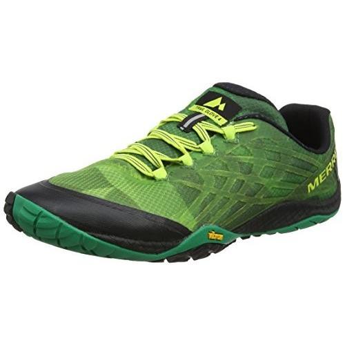 速くおよび自由な Merrell Men's Trail Glove 4 Sneaker, Emerald, 11 M US【並行輸入品】, 三芳村 8a2e1297