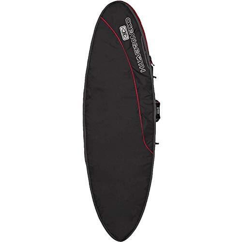 【在庫処分】 Ocean & Earth Aircon Black/Red Fish Surfboard Bag - Fits 1 Board - 24.5