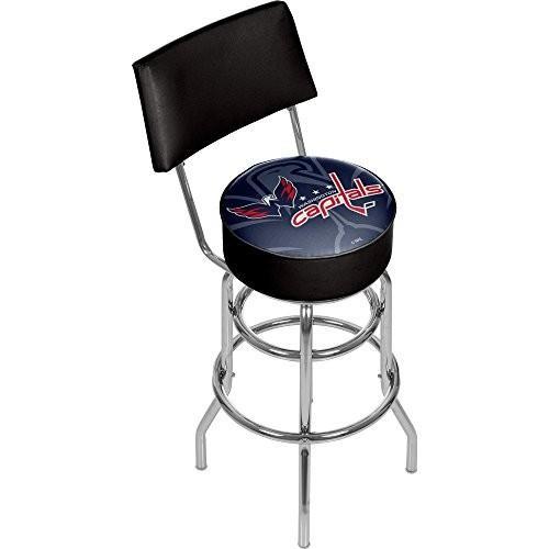 リアル Trademark Gameroom NHL1100-WC-WM NHL Swivel bar Stool with Back - Watermark - Washington Capitalsa【並行輸入品】, cadeaux de coppelia b126998c