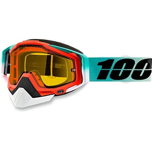 史上一番安い 100% Racecraft Adult Snowmobile Goggles - Cubica Racecraft Goggles/Yellow Lens Lens/One/One Size【並行輸入品】, GBB:2d04d4d6 --- airmodconsu.dominiotemporario.com