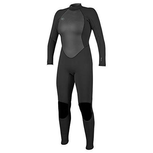 【後払い手数料無料】 O'Neill Women's Reactor-2 Reactor-2 Wetsuit, 3/2mm Women's Back Zip Full Wetsuit, Black, 4 並行輸入品, マツカワムラ:4f9123b0 --- airmodconsu.dominiotemporario.com