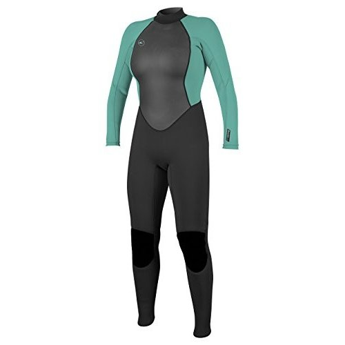 低価格の O'Neill 並行輸入品 Women's Reactor-2 3/2mm Reactor-2 Back Zip Full Wetsuit, Zip Black/Aqua, 6 並行輸入品, 昭和村:81e8d8ff --- airmodconsu.dominiotemporario.com