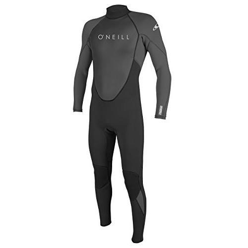 人気が高い  O'Neill Men's Reactor II 3/2mm Back Zip Full Wetsuit, Black/Graphite, Large Tall 並行輸入品, CS STORE 358cf341