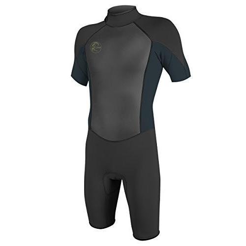 独創的 O'Neill Men's O'riginal 2mm Short Sleeve Spring Wetsuit, Black/Slate, Medium Tall 並行輸入品, toolbox世田谷(ガーデン用品) f5c009f9