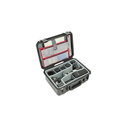 流行 SKB Case, Cases 3i-1813-7DL SKB iSeries Professional Camera Case, Black 並行輸入品/Gray 並行輸入品, ウエノハラマチ:52413cb9 --- viewmap.org