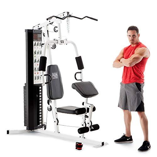 【内祝い】 Marcy Marcy Dual-Functioning Upper and Lower Body 150-Pound Lower Stack Upper Home Gym Workout Weight Machine【並行輸入品】, アンドチョウ:d1143d04 --- airmodconsu.dominiotemporario.com