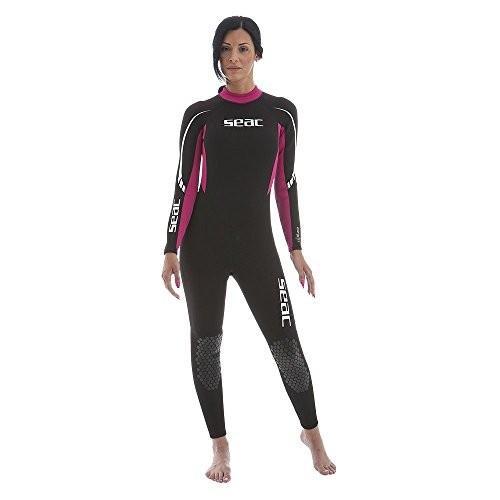 人気の SEAC The Relax Wetsuit Long 並行輸入品 Woman's, 2.2 mm Neoprene One One Piece Wetsuit for Snorkeling, Scuba Diving and Other Water Sports 並行輸入品, 村田町:84eb3914 --- airmodconsu.dominiotemporario.com