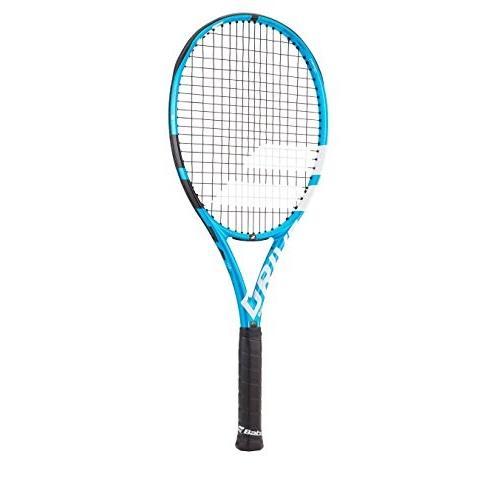 激安な Babolat Pure Drive 107 Extended Black/Blue/White Tennis Racquet (4 3/8