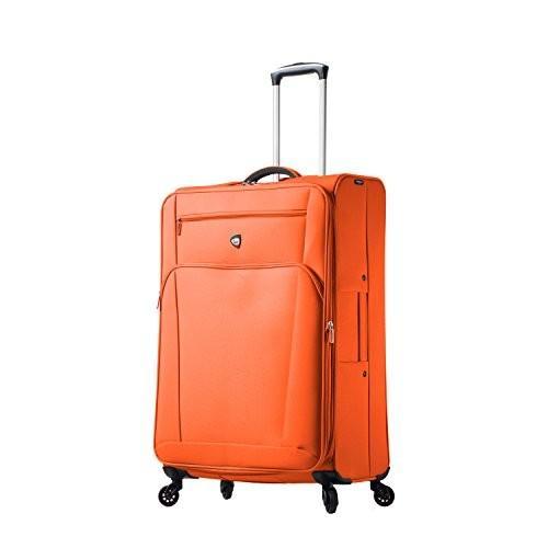 日本人気超絶の Mia Toro Italy Aria Softside 28 Inch Spinner Luggage-Tangerine【並行輸入品】, バッグ&雑貨のハイスタイル 86f42a88