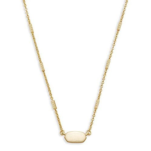【予約販売】本 Kendra Scott Kendra Fern Pendant 14k Necklace, 14k Gold-Plated【並行輸入品 Necklace,】, 和泊町:ceea8550 --- airmodconsu.dominiotemporario.com