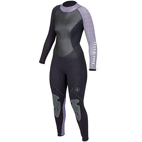 素晴らしい品質 AQUALUNG Women's HydroFlex 3mm Jumpsuit (10, Black/Twilight Tweed) 並行輸入品, 雲南市 fb41fdec