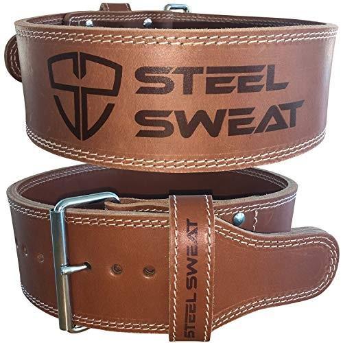 【通販 人気】 Steel Sweat Weight Lifting Belt - 4