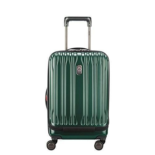 【未使用品】 Delsey Chromium Lite International Expandable Spinner Carry-On Emerald One Size【並行輸入品】, テスラ 5aae04b0