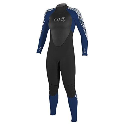 日本初の O'Neill Women's Epic Wetsuit, 3 3/2mm 8/2mm Back Zip Full Wetsuit, Black/Navy, 8 並行輸入品, ガーデンで暮らそ:8ecbbb90 --- airmodconsu.dominiotemporario.com