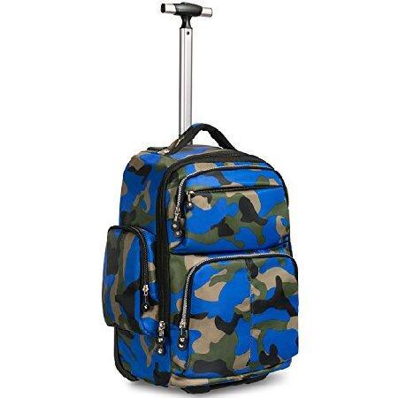 【お1人様1点限り】 20 inches Backpack Big Storage Multifunction Travel inches Wheeled Rolling by Backpack Luggage Books Laptop Bag by HollyHOME【並行輸入品】, ヒロネットショップ:d23d88ce --- fresh-beauty.com.au