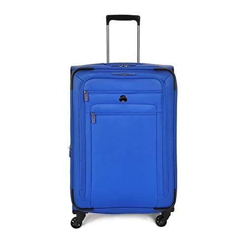 【おまけ付】 DELSEY Paris Delsey Luggage Helium Sky 2.0 25 Expandable Spinner Trolley (Blue)【並行輸入品】, タチカワシ 89be6445