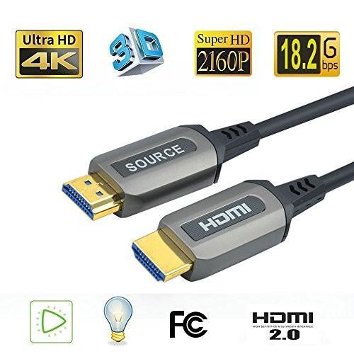 大好き Jeirdus 165ft Light AOC HDMI Fiber Optic Gbps,Support HDCP2.2, Cable Ultra HDR HDMI2.0b 18 Gbps,Support 4K60HZ ARC HDR10 HDCP2.2, Dolby Vision, Light Speed Slim and Flexible【, Raffineバッグ館:dbc84258 --- grafis.com.tr