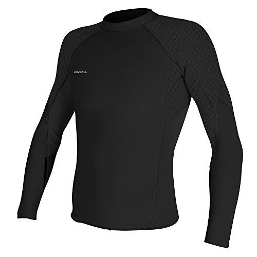 50%OFF O'Neill Men's Sleeve Hyperfreak 1.5mm Long Sleeve Top, Black Large/Black, 並行輸入品 Large Tall 並行輸入品, くすりのヘルシーボックス:d55fd534 --- airmodconsu.dominiotemporario.com