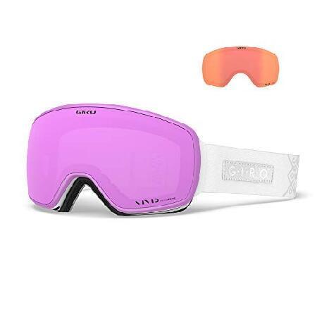 最高の品質の Giro 2 Goggles Eave Womens Snow Goggles White Velvet White 2 Lens【並行輸入品】, バラエティーミート アサヒ:39f89a3f --- airmodconsu.dominiotemporario.com