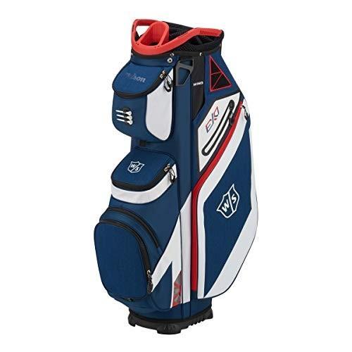 【テレビで話題】 Wilson Staff EXO Cart Golf Bag, Navy【並行輸入品】, 鹿島市 fe9e08ff