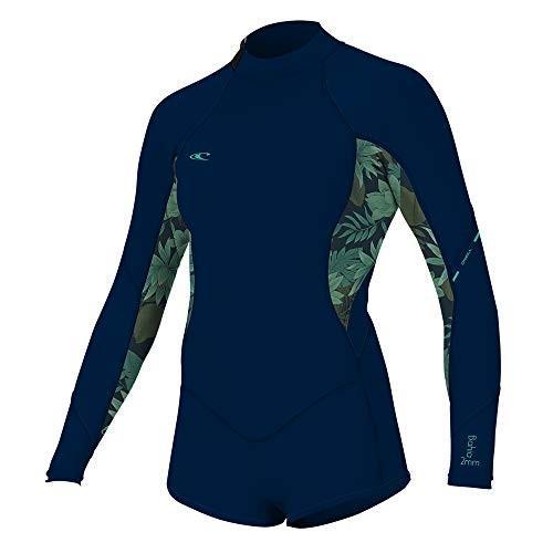 新品登場 O'Neill 並行輸入品 Wetsuits 10 Women's Bahia 2/1mm Back Zip Long Back Sleeve Short Spring, Abyss/Faro, 10 並行輸入品, CORUNDUM:7cf73960 --- airmodconsu.dominiotemporario.com