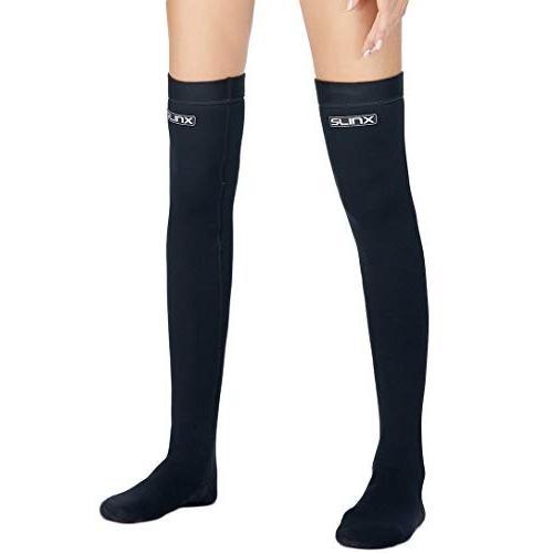 2019春の新作 Micosuza Women's Water 2mm Socks Long Diving Neoprene 2mm Thermal Water Wetsuits Stockings Flexible for Snorkeling Surfing Diving 並行輸入品, 日中愛源:655a16b3 --- airmodconsu.dominiotemporario.com