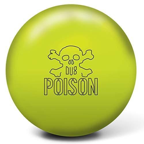 【特別セール品】 DV8 Bowling Products Poison Bowling Ball- 14Lbs, Halogen Yellow, 14 並行輸入品, フジシロマチ d005b110