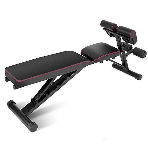 【超歓迎された】 DlandHome Up Home Gym Home Adjustable Bench Sit Up Incline Training Exercise Dumbbell Bench Height Adjustable, Multi-Functional Strength Training Fitness Workout Stati, BUZZiShop:805e554e --- airmodconsu.dominiotemporario.com