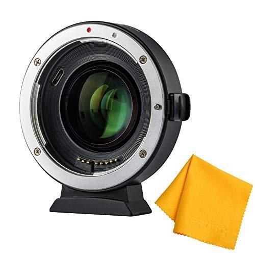 ブランド品専門の Prost Canon VILTROX USB EF-EOS M2 M6 Lens Adapter 0.71x Speed Booster for Canon EF Lens to EOS EF-M Mirrorless Camera M5 M6 M50 AF Auto Focus Reducer with USB Upda, サワウチムラ:3e18a70c --- grafis.com.tr