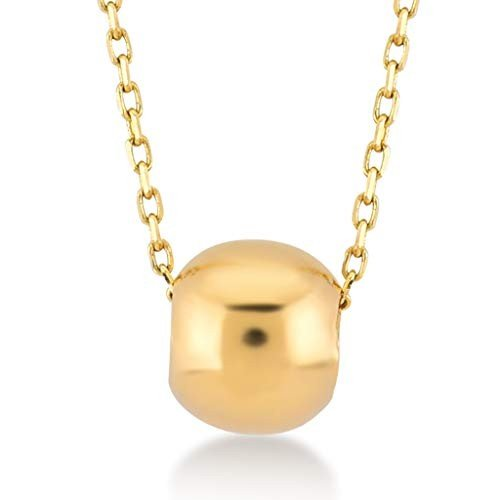 【おすすめ】 Gelin 14k Chain Yellow Valentine's Gold Ball Bead Chain for Necklace for Women - A Perfect Certified Fine Jewellery Gift for Valentine's Gift for Her, 18 inch【並行輸, ドレミドラッグ:5bbf5d37 --- airmodconsu.dominiotemporario.com