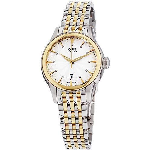肌触りがいい Oris Artelier Date Diamonds Automatic Ladies Watch 01 561 7687 4351-07 8 14 78 並行輸入品, ザネクストエイジ() a0f91c49