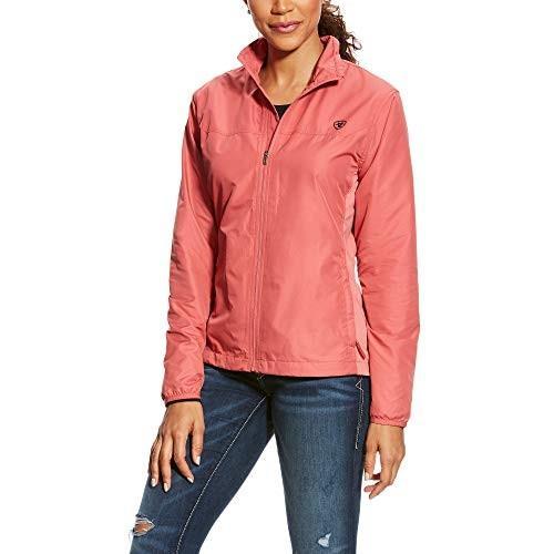 数量限定価格!! ARIAT Women's Ideal Windbreaker Jacket Frayed Red Size Small 並行輸入品, ファイト 042e210b