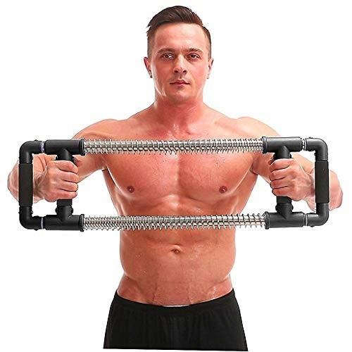 正式的 GoFitness Push Down Bar Machine - Chest Expander at Home Workout Equipment - Portable Spring Resistance Exercise Gym Kit for Home, Travel or Outdoors, 【アムス】AMS.ONLINE STORE 76adf56c