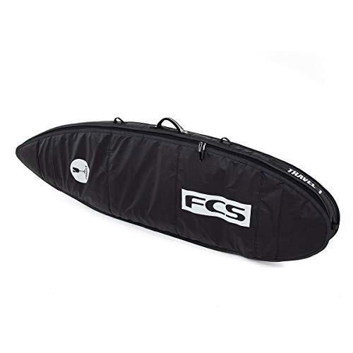 【良好品】 FCS Travel 1 All Purpose Surfboard Bag Black/Grey 6'7