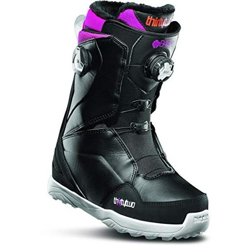 【SEAL限定商品】 thirtytwo Women's Lashed Double Boa '19/20 Snowbaord Boot (B4BC (Black/Pink/White), 6.5) 並行輸入品, メロウストア d68d1724